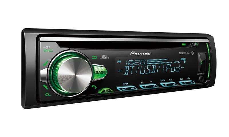 Pioneer DEN-S5000BT - avec des capacités de communication étendues
