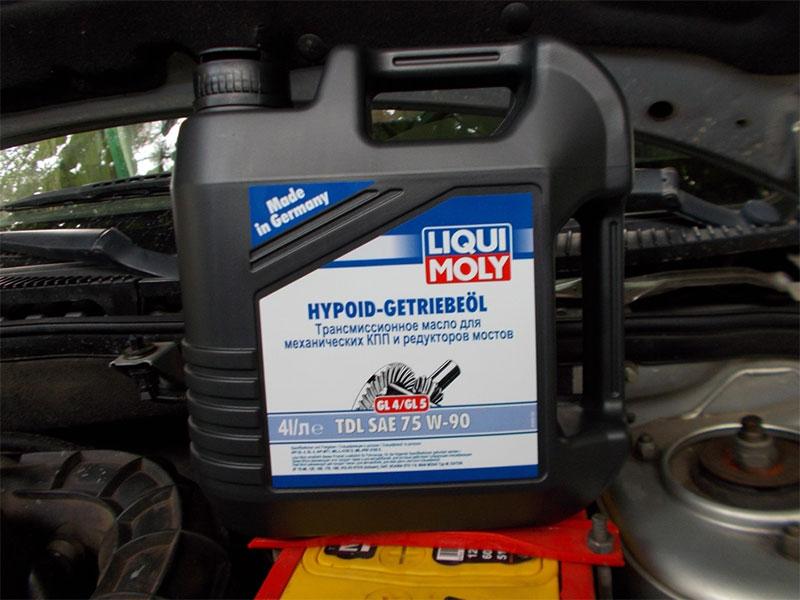 LIQUI MOLY Hypoïde Getriebeoil TDL 75W 90
