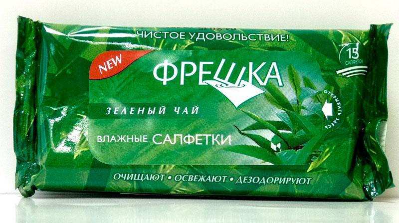 Freshka Zelenii chai Biokon