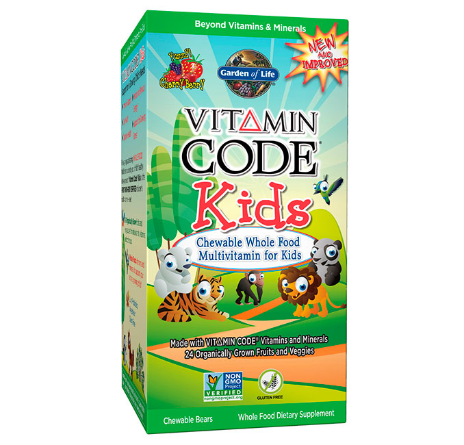 Multivitamines pour enfants Garden of Life