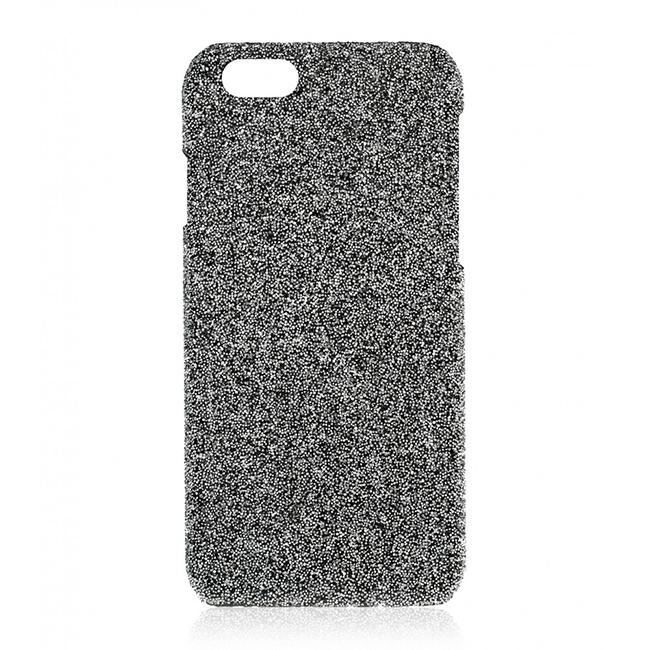 Coque 2ME Swarovski Crystal Fabric Silver pour iPhone 7 et iPhone 8 - éclat luxueux et design élégant
