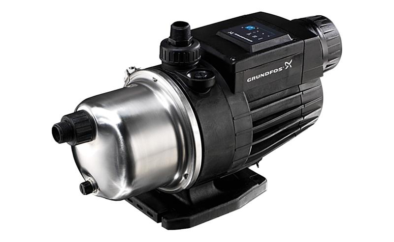 Grundfos MQ3-35 - la meilleure station de pompage pour augmenter la pression de l'eau avec une commande automatique