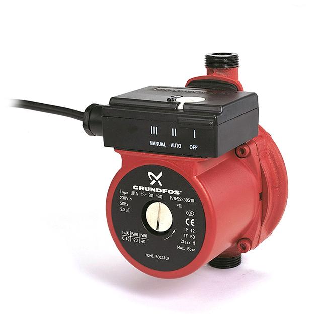 Grundfos UPA 15-90 (N) - La meilleure pompe à eau pour augmenter la pression