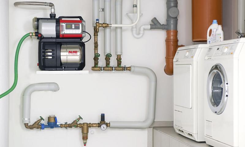 Des pompes pour augmenter la pression de l'eau