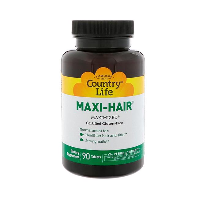 Country Life Maxi-Hair - pour la nutrition et la croissance