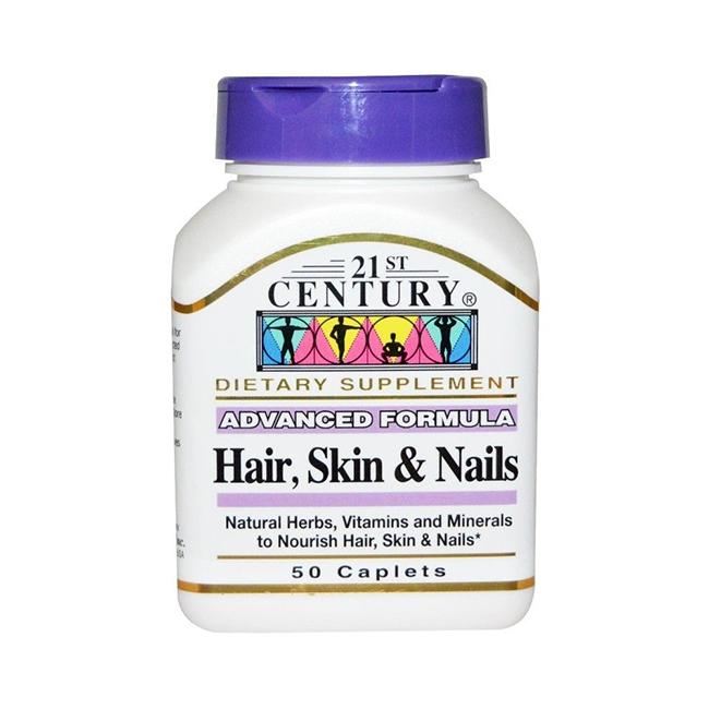 21st Century Health Care Cheveux, peau et ongles - pour renforcer et rajeunir
