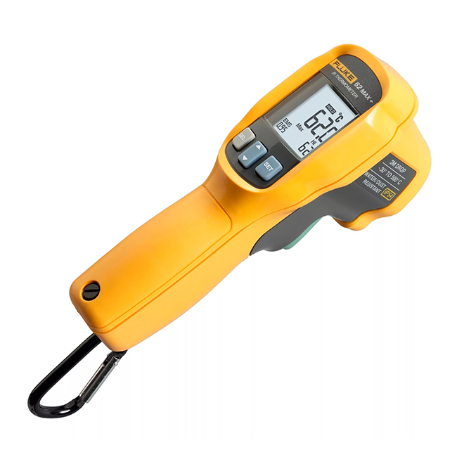 FLUKE-62 MAX + - pour les conditions de production