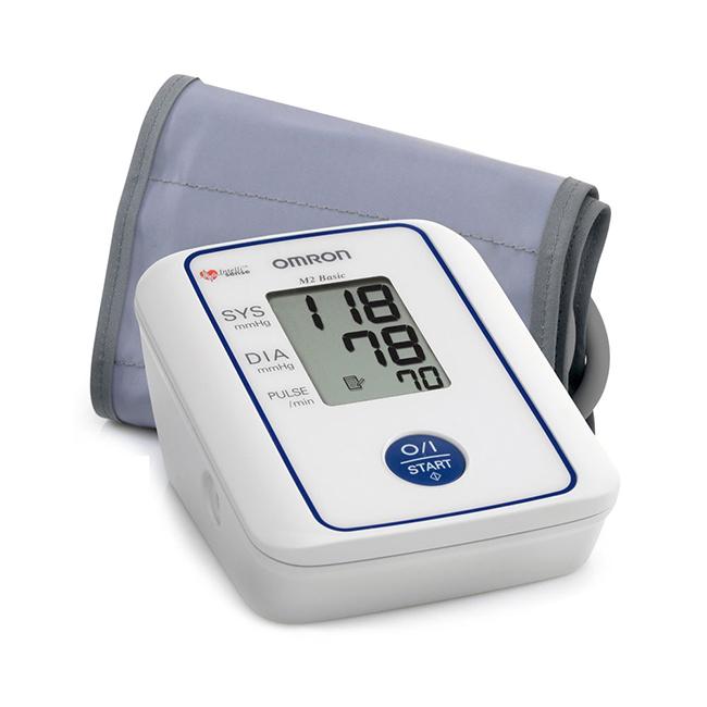 Omron M2 Basic - un tonomètre avec manchette pour la fixation à l'épaule