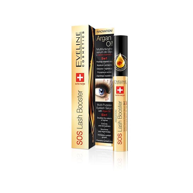 EVELINE COSMETICS SOS Lash Booster - une base utile pour le mascara