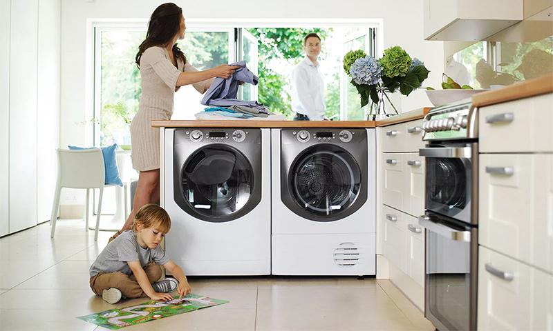 Machines à laver intégrées