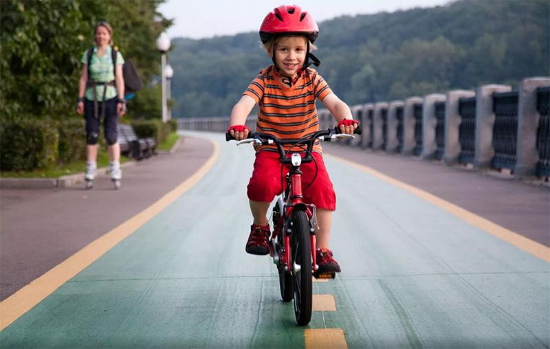 Das Funktionsprinzip und die Einrichtung des Kinderfahrrades