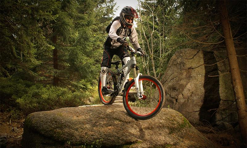 Auswahlmöglichkeiten für Mountainbikes