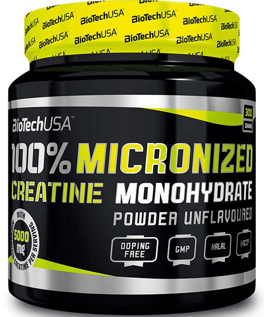 100 monohydrate de créatine BioTech