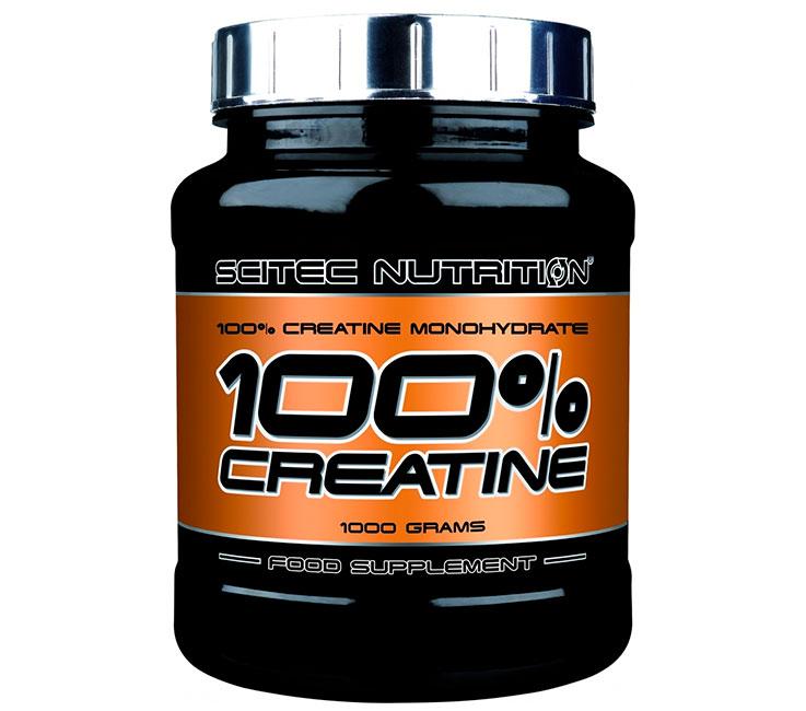 100 Monohydrate de créatine Scitec Nutrition