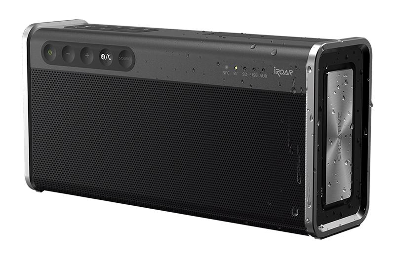 Creative Iroar Go  -  Isang Malawak Na Tampok Na Portable扬声器