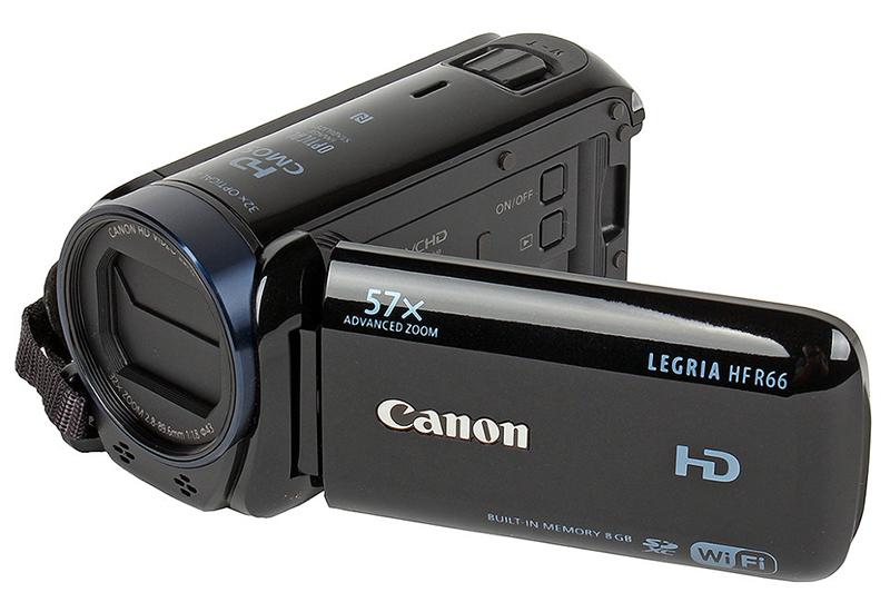 Canon Legria HF R66  -  Para Sa Mataas Na Kalidad Na Ilaw