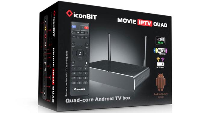 iconBIT Film IPTV QUAD